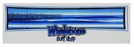 Whalebone Logo LOGO STICKER - BLUE PIER