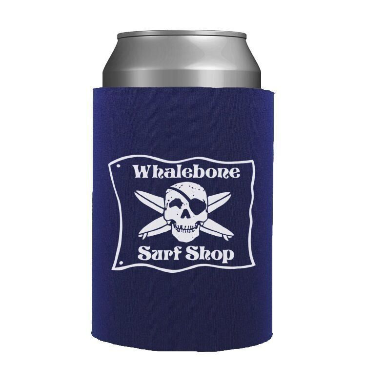 Whalebone Logo WHALEBONE SURF SHOP MOLDED CAN INSULATOR
