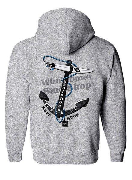 Whalebone Logo ANCHOR PULLOVER HOODIE