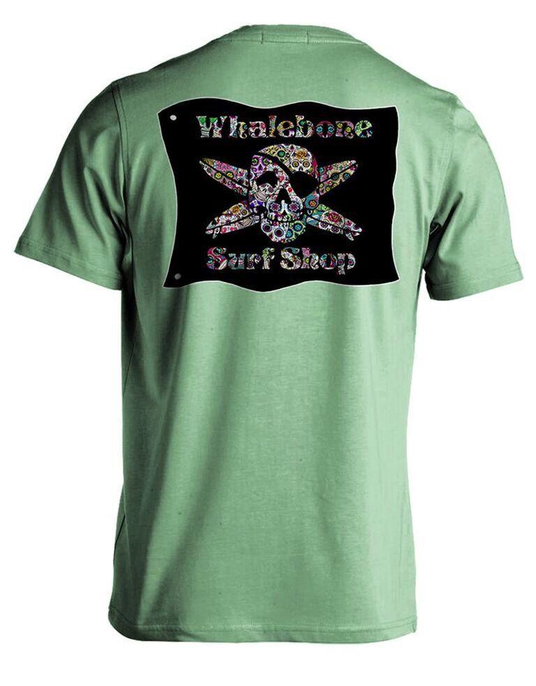 Whalebone Logo SUGAR SKULL SHORT SLEEVE TEE