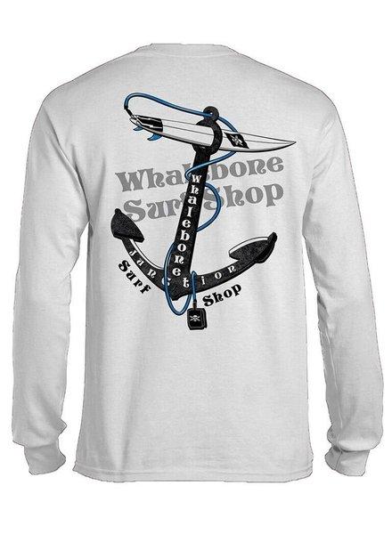 Whalebone Logo ANCHOR LONG SLEEVE TEE