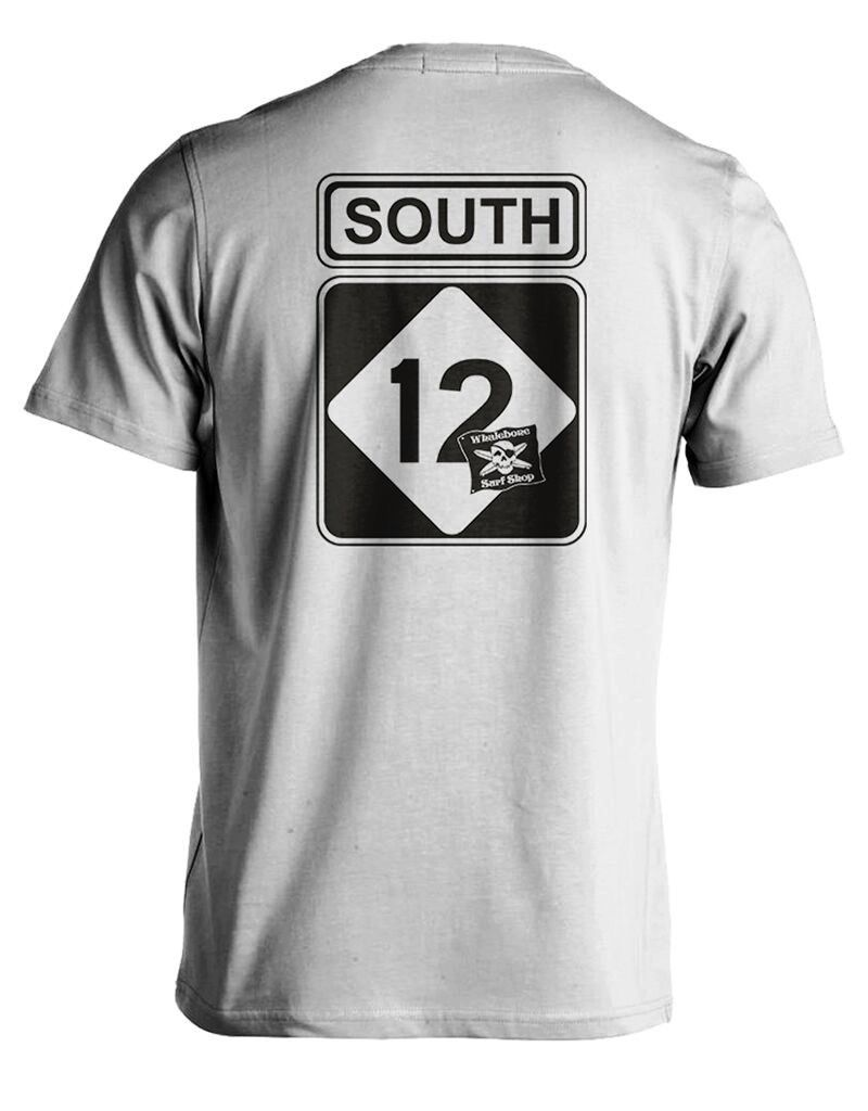 Whalebone Logo SOUTH 12 SHORT SLEEVE TEE