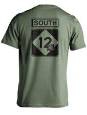 Whalebone Logo SOUTH 12 PREMIUM SHORT SLEEVE TEE