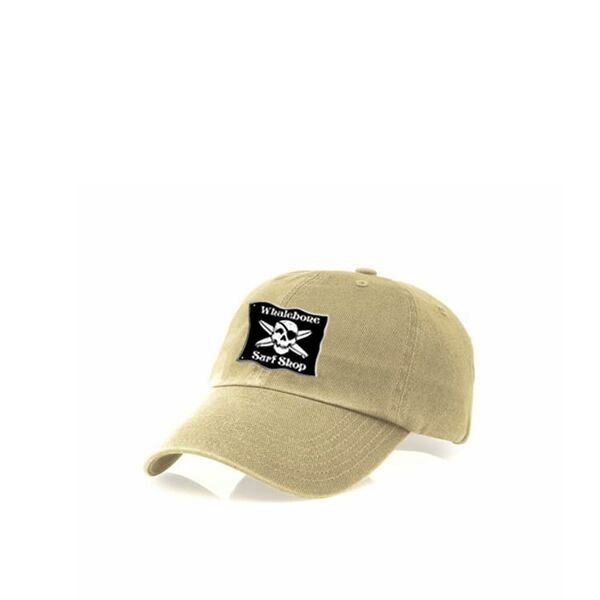 Whalebone Logo LOGO HAT - KIDS ORIGINAL GARMENT WASHED CHINO HAT WITH ELASTIC BACKSTRAP