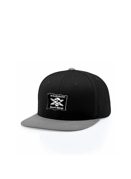 Whalebone Logo LOGO HAT - ORIGINAL PROWOOL SNAP BACK FLAT BILL