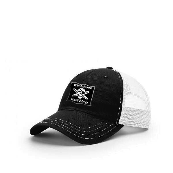 Whalebone Logo LOGO HAT - ORIGINAL MESH BACK UNSTRUCTURED GARMENT WASHED TWILL FRONT