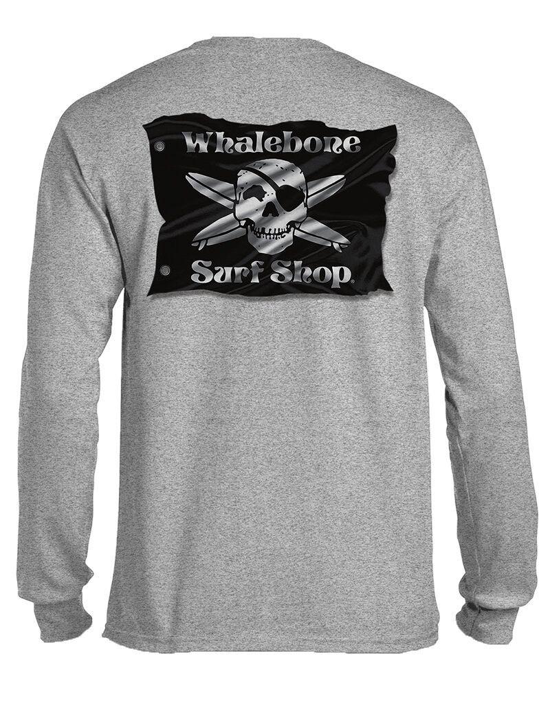 Whalebone Logo 3D FLAG LONG SLEEVE TEE