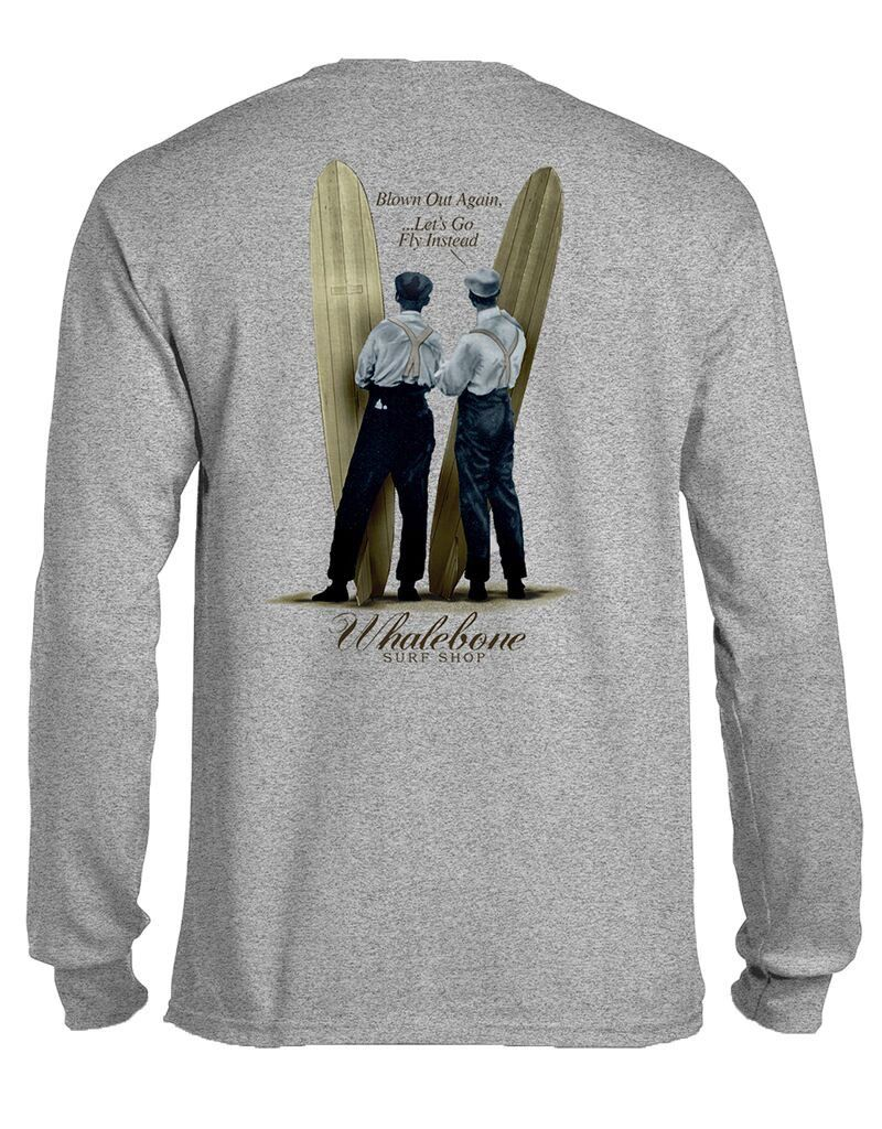 Whalebone Logo WRIGHT BROS DESIGN LONG SLEEVE TEE