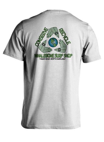 Whalebone Logo CONSERVE+RECYCLE WHALEBONE ECONSCIOUS SHORT SLEEVE TEE