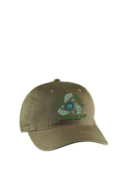 Whalebone Logo CONSERVE+RECYCLE WHALEBONE ECO HAT