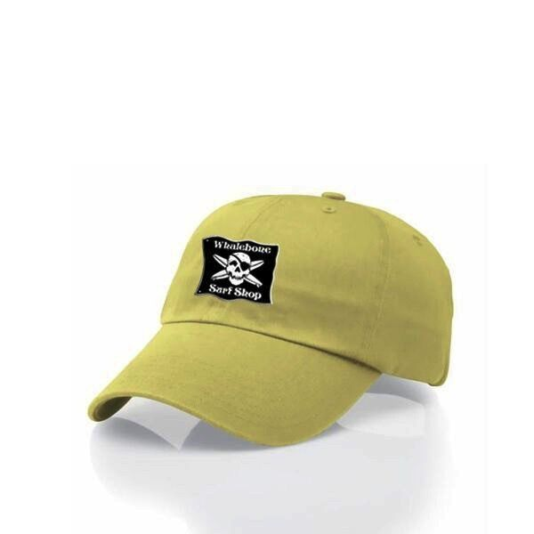 Whalebone Logo LOGO HAT - ORIGINAL BLACK PATCH ADJUSTABLE CHINO HAT WITH METAL COMFORT BUCKLE