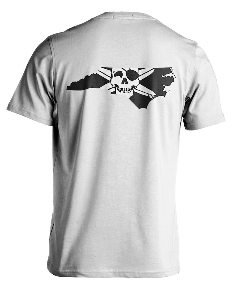 Whalebone Logo STATE OF NC OUTLINE LOGO SHORT SLEEVE TEE