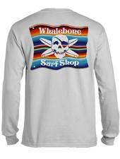 Whalebone Logo MEXICAN BLANKET LONG SLEEVE TEE