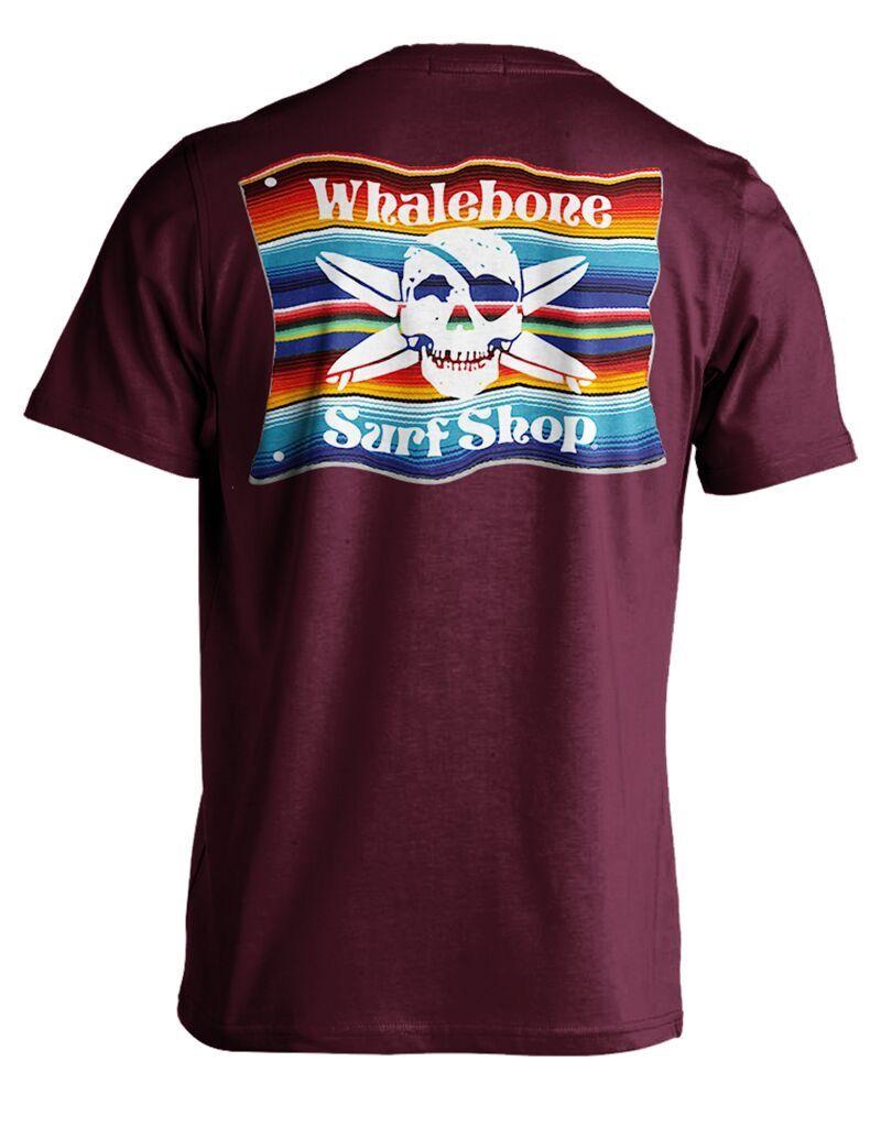 Whalebone Logo MEXICAN BLANKET SHORT SLEEVE TEE