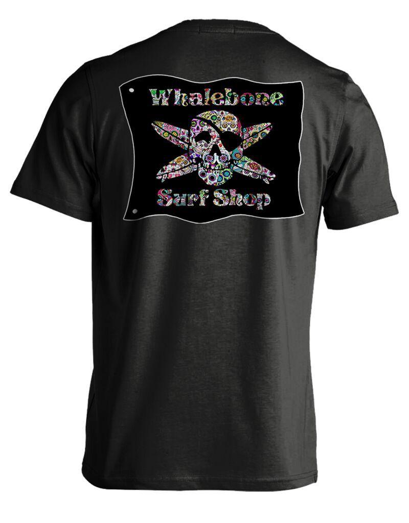 Whalebone Logo SUGAR SKULL PREMIUM BLEND SHORT SLEEVE TEE