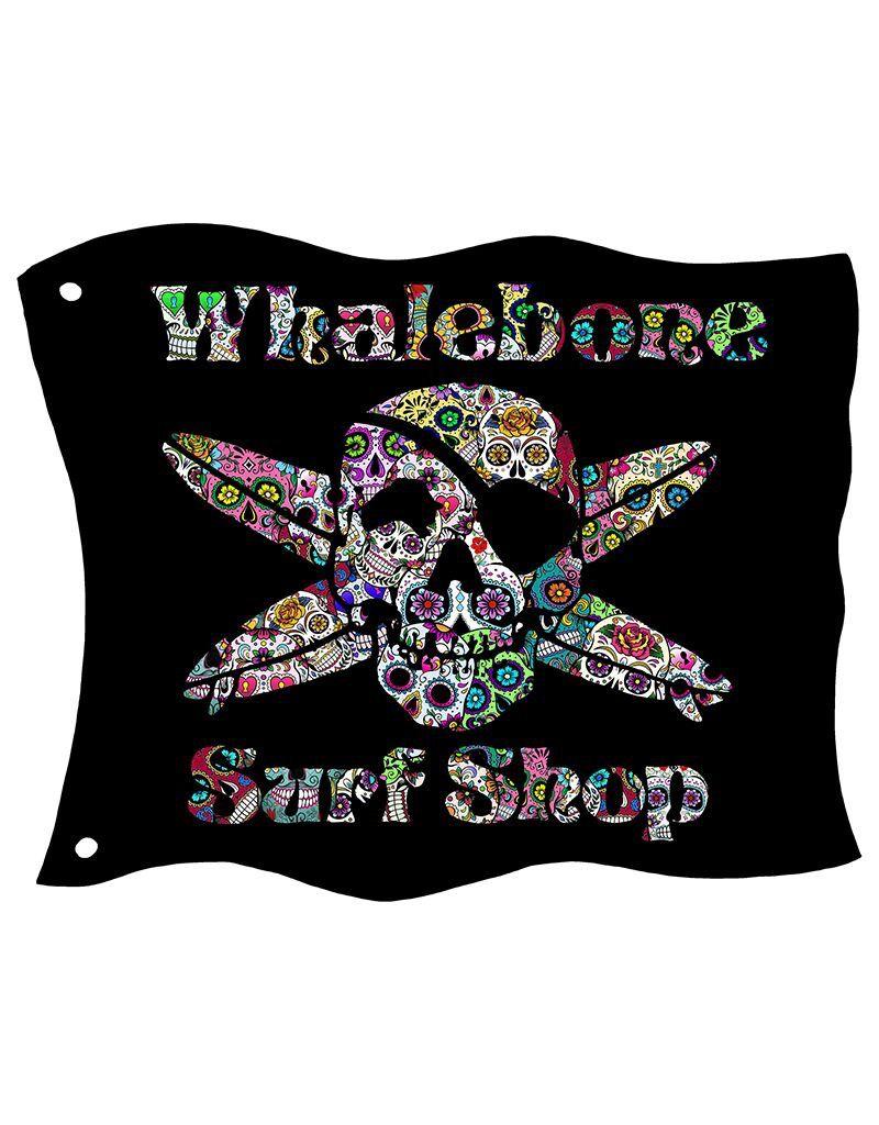 Whalebone Logo SUGAR SKULL PULLOVER HOODIE