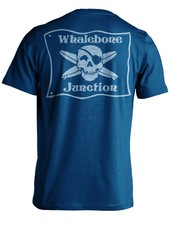 Whalebone Logo WHALEBONE JUNCTION BLUE FLAG PREMIUM SHORT SLEEVE TEE