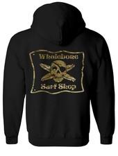 Whalebone Logo MULTICAM PULLOVER HOODIE