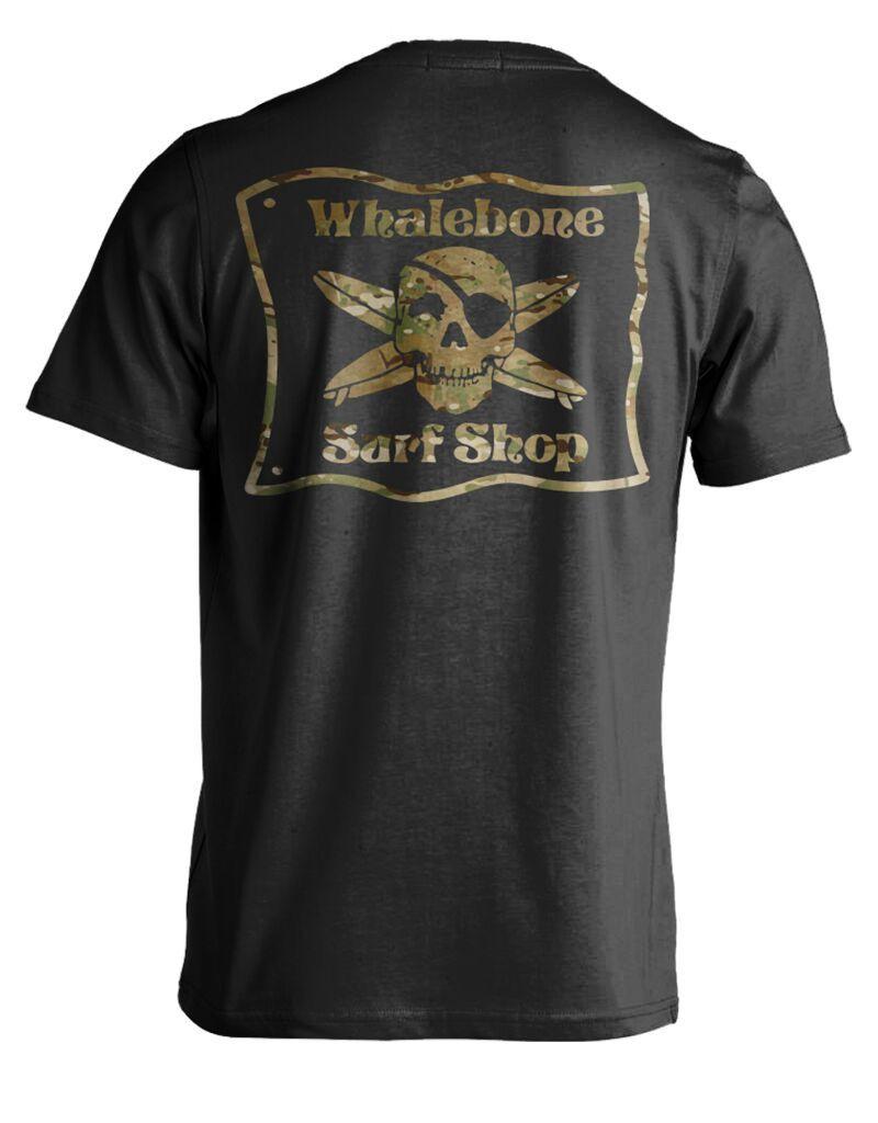 Whalebone Logo MULTICAM PREMIUM SHORT SLEEVE TEE