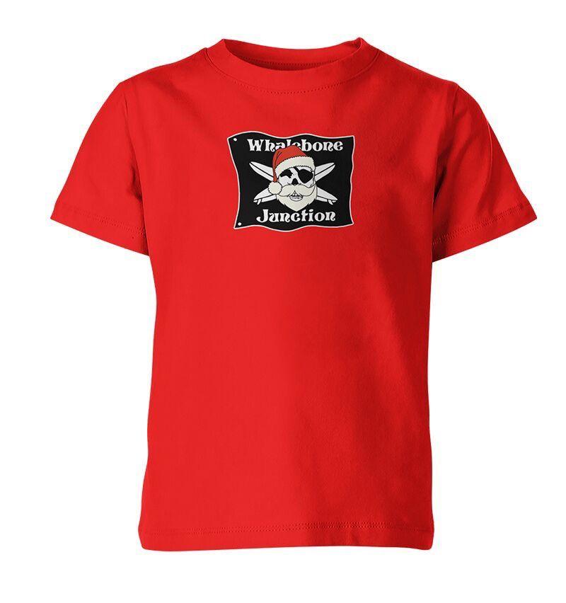 Whalebone Logo KIDS WHALEBONE SANTA SHORT SLEEVE TEE