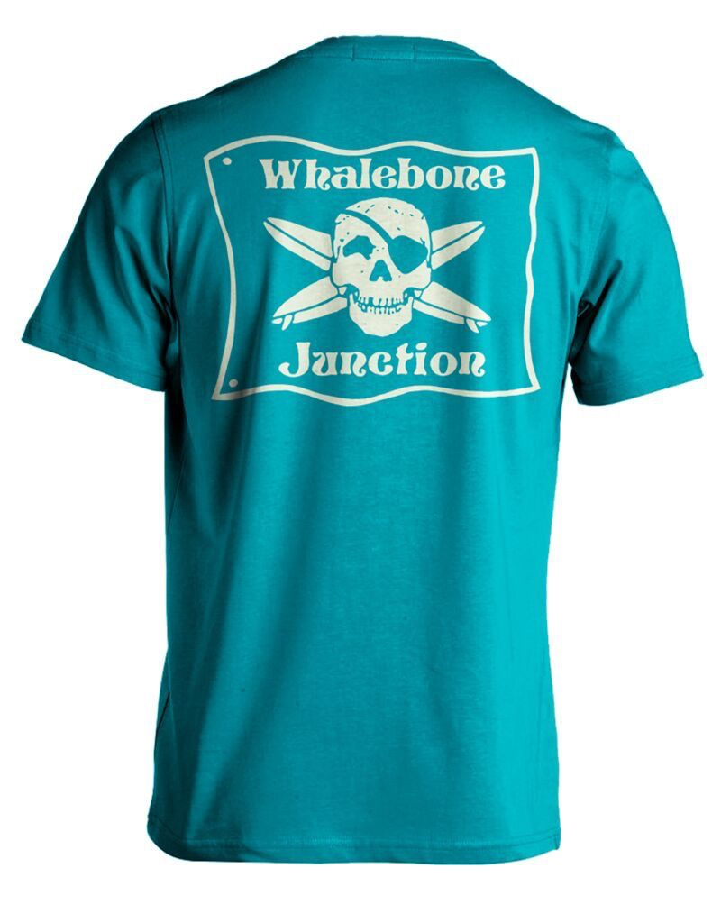 Whalebone Logo WHALEBONE JUNCTION GLOW PREMIUM BLEND SHORT SLEEVE TEE