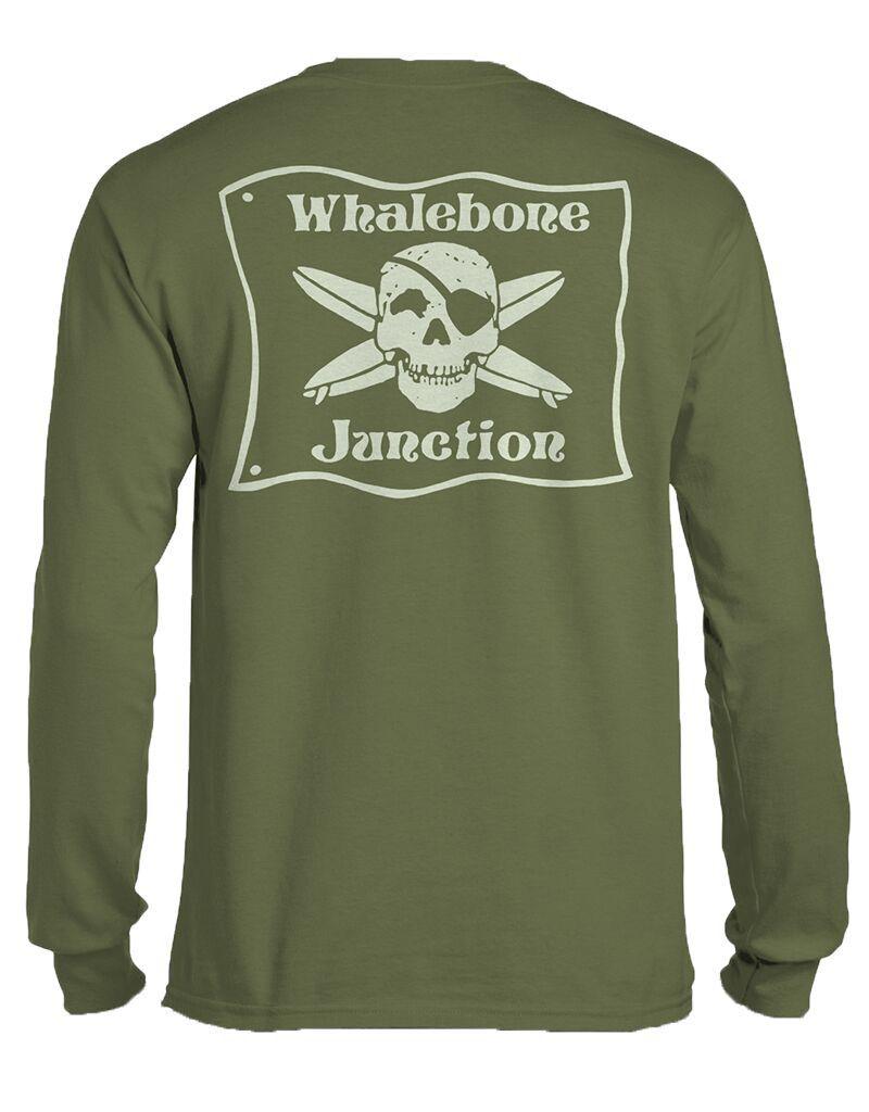 Whalebone Logo WHALEBONE JUNCTION GLOW LOGO LONG SLEEVE TEE