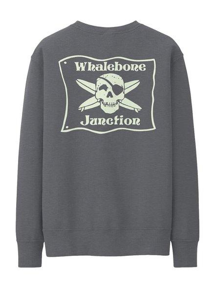 Whalebone Logo WHALEBONE JUNCTION GLOW CREW FLEECE