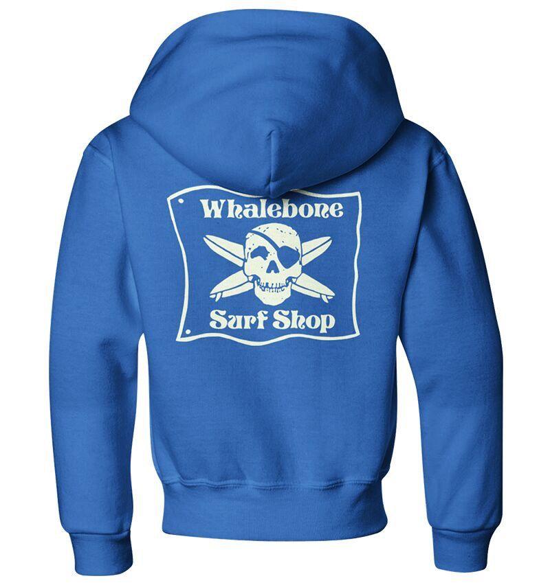 Whalebone Logo KIDS WHALEBONE SURF SHOP GLOW PULLOVER HOODIE