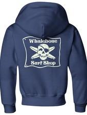 Whalebone Logo KIDS * WHALEBONE SURF SHOP GLOW ZIP HOODIE