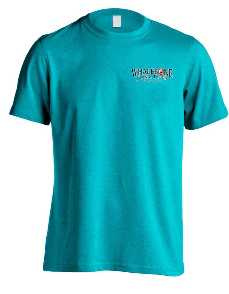 Whalebone Logo OILY MERMAID-NO DRILLING PREMIUM BLEND SHORT SLEEVE TEE