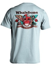 Whalebone Logo DAY OF THE DEAD PREMIUM BLEND SHORT SLEEVE TEE