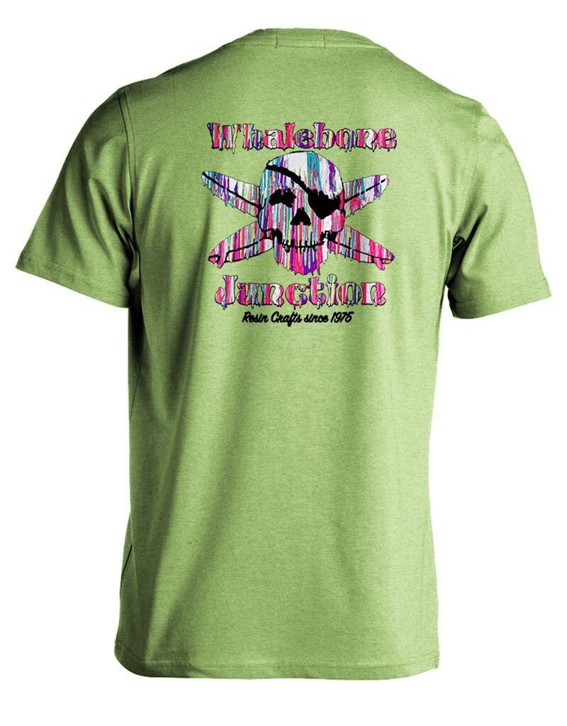 Whalebone Logo RESIN DRIP PREMIUM BLEND SHORT SLEEVE TEE