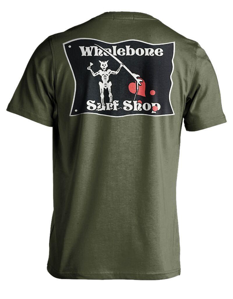 Whalebone Logo BLACKBEARD PREMIUM SHORT SLEEVE TEE