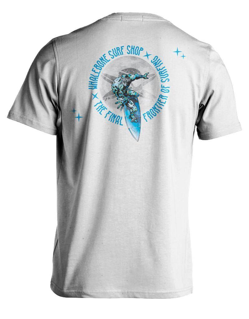 Whalebone Logo STEALTH SURFER PREMIUM COTTON LINKS SHORT SLEEVE TEE