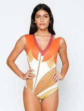 SEEA SEEA RHEA BELL FLOWER ONE PIECE