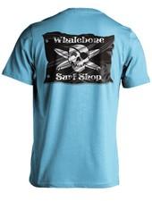 Whalebone Logo 3D FLAG SHORT SLEEVE TEE