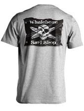 Whalebone Logo 3D FLAG POCKET SHORT SLEEVE TEE