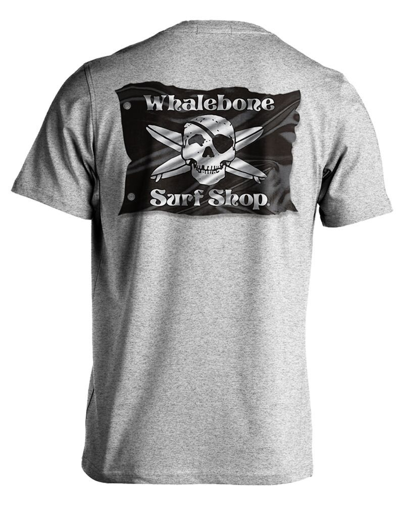 Whalebone Logo 3D FLAG POCKET SHORT SLEEVE TEE
