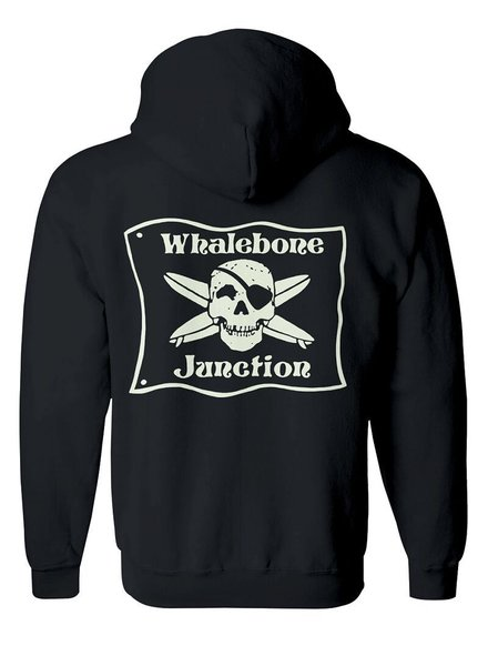 Whalebone Logo WHALEBONE JUNCTION GLOW PULLOVER  HOODIE WITH SOUTH 12 ON CUFF