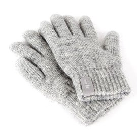 Moshi Moshi Digits Touchscreen Gloves, Light Grey, Small/Medium