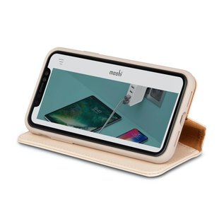 Moshi Carry your cards, cash, receipts and more with your phone. Features a Neato screen cleaner for wiping away fingerprints and smudges.