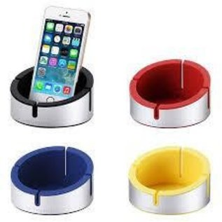Just Mobile AluCup Grande™ - A top quality Aluminium & Silicone Stand/Cup for the iPad/iPhone.