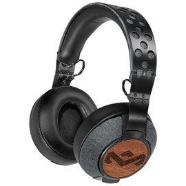 Marley Liberate Over-Ear Headphones, Midnight