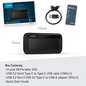 CRUCIAL Crucial X8 500GB External Portable SSD ~1050MB/s USB3.2 Gen2 USB-C Slim Durable Rugged Shock & Vibration Proof