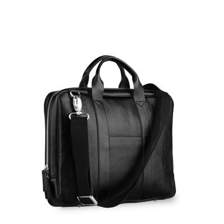 "TOFFEE Lincoln Briefcase 15"" Black"