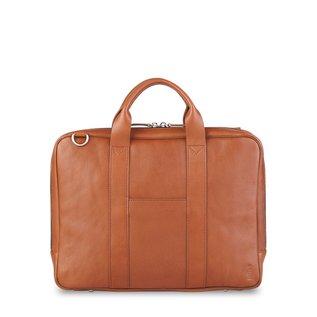 "TOFFEE Lincoln Briefcase 15"" Tan"