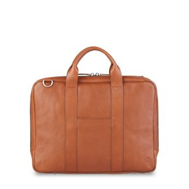 "TOFFEE Lincoln Briefcase 13"" Tan"