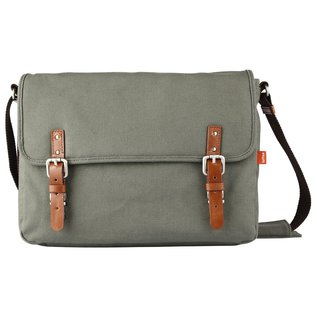 TOFFEE Fitzroy Satchel in Waxed Canvas