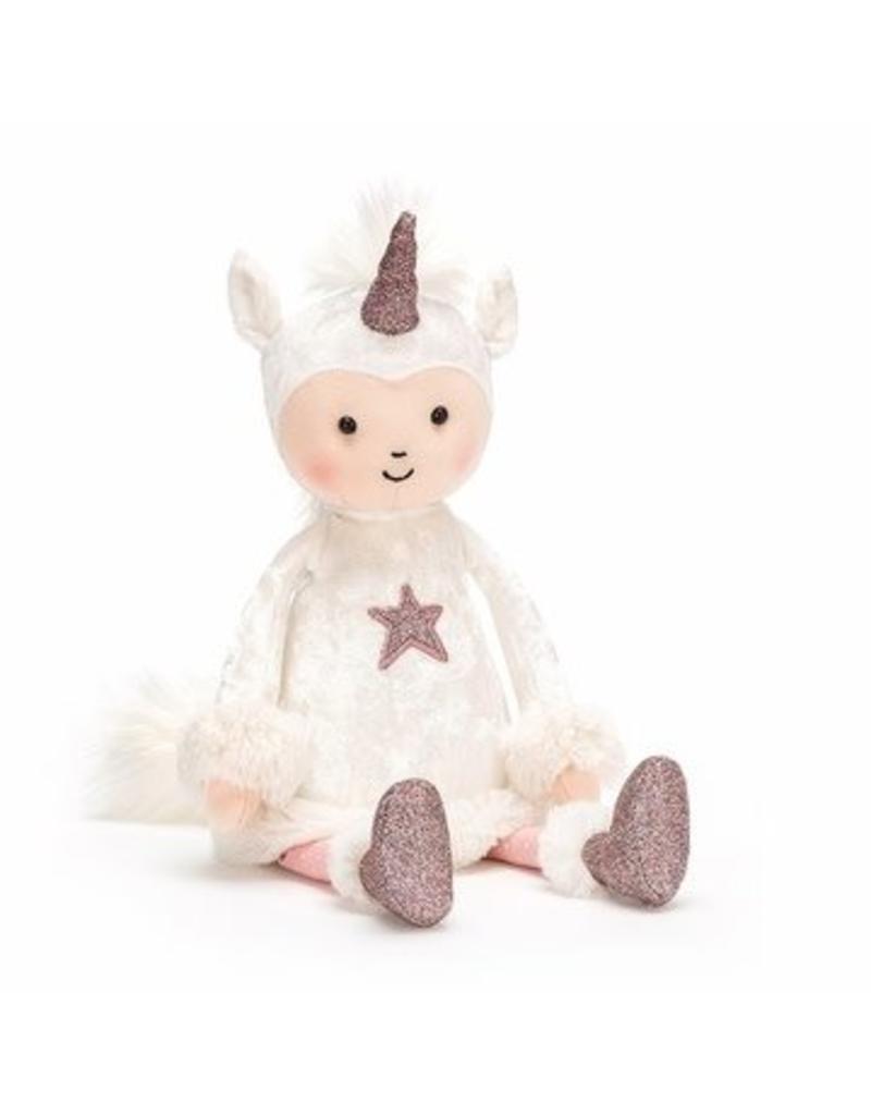 jellycat Perkies Unicorn Delight doll unicorn moon