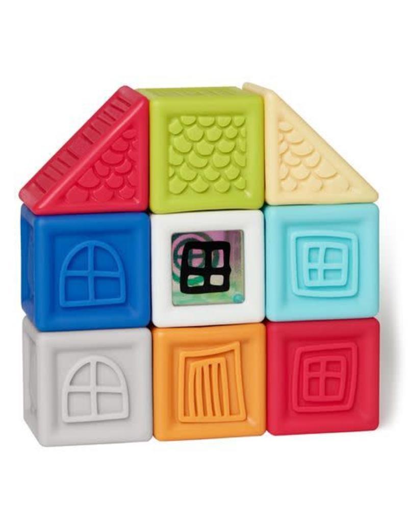 Skip Hop Vibrant Village Squeeze & Squeak Blocks